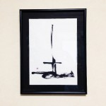 modern zen art/ インテリア書「立-stand-」