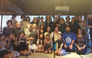 19名のイスラエルゲストと書塾花紅のメンバー
