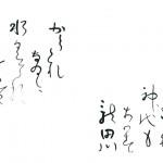 小学5年 F.S 「ちはやふる神代もきかず龍田川からくれなゐに水くくるとは」